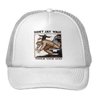 ¡No hace el paseo de Jay - mire su paso! Gorras