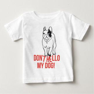 No hace hola mi perro - dogo francés polera