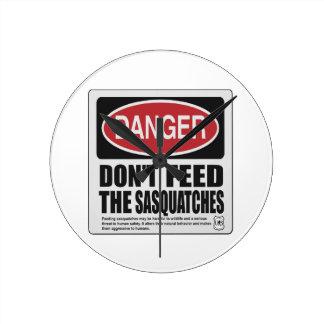 No hace la alimentación Sasquatches Relojes