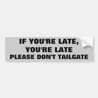No hace por favor la puerta posterior pegatina para auto