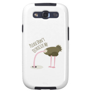 No hace por favor Ostricize yo Samsung Galaxy S3 Carcasa