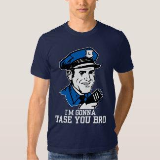 No hace Tase yo camiseta de Bro Camisas