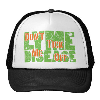 No hace tictac apagado - Lyme Disase Gorros Bordados