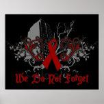 No hacemos conciencia de los Olvidar-SIDA Impresiones