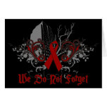 No hacemos conciencia de los Olvidar-SIDA Tarjetón