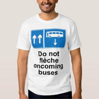 No hacen los autobuses inminentes del fleche playeras