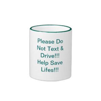 ¡No hacen por favor el texto y la impulsión!!! ¡Ay Taza De Café