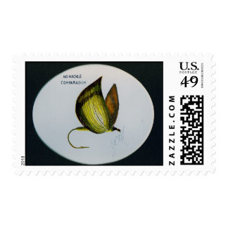 No Hackel, Fly Fishing Fly Postage