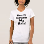 ¡No haga! con reglas en la parte posterior (txt Camisetas