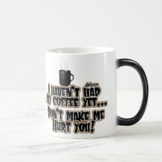 No haga las mañanas taza mágica