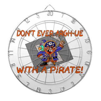 No haga nunca argh-ue con un pirata