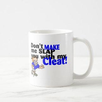 No haga que le da una palmada con mi fútbol del taza clásica