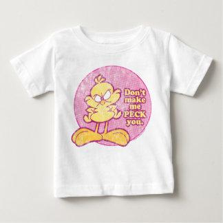 No haga que le picotea camisa del bebé