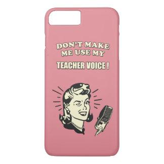 No haga que utiliza mi cita de la enseñanza de la funda iPhone 7 plus
