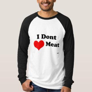 No hago camisa de Vinatge de la carne del corazón