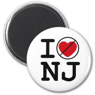 No hago corazón New Jersey Imán Redondo 5 Cm