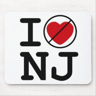 No hago corazón New Jersey Tapetes De Raton