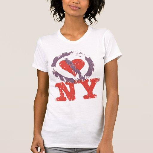 No hago el corazón NY Camiseta