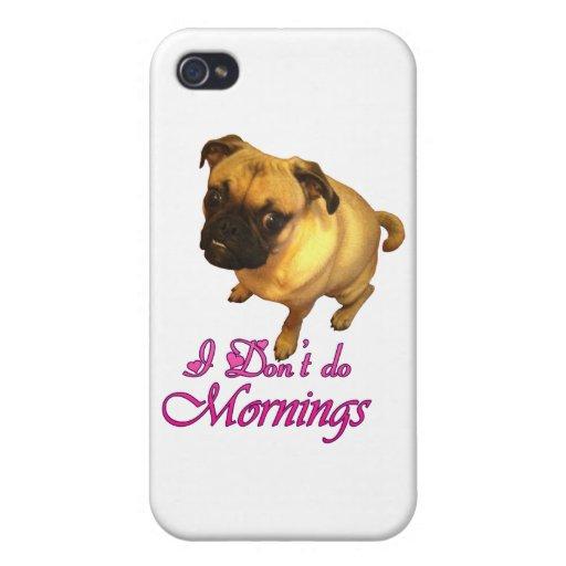No hago mañanas iPhone 4 funda