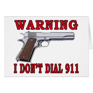 No hago marco 911 felicitacion