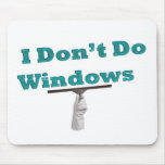 No hago ventanas alfombrillas de ratones