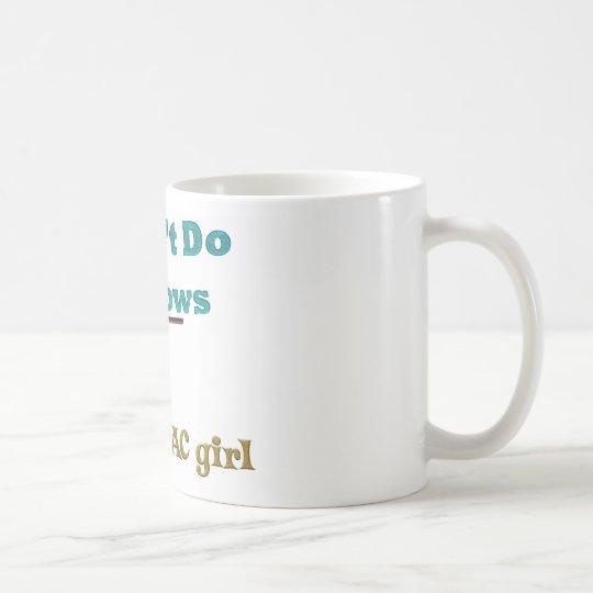 No hago ventanas taza de café
