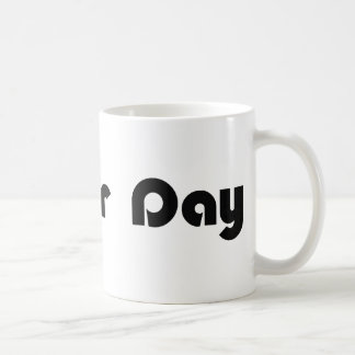 No Hair Day Classic White Coffee Mug
