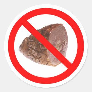 NO HAM KOSHER sticker