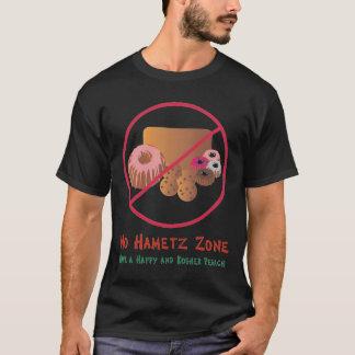 No Hametz Zone black tee