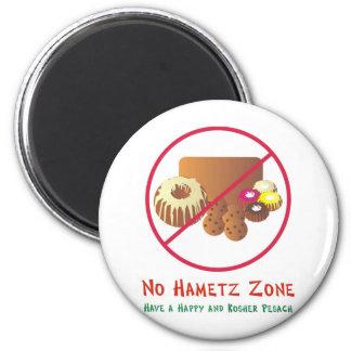 No Hametz Zone Magnet