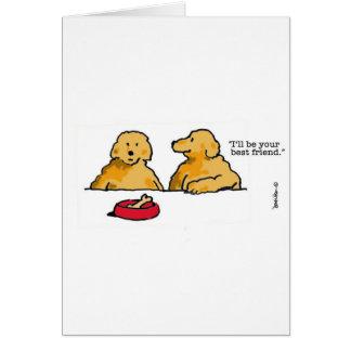 No han visto a un amigo en un rato, envían una tar tarjeta de felicitación