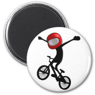 No Hander - Pocket BMX 2 Inch Round Magnet