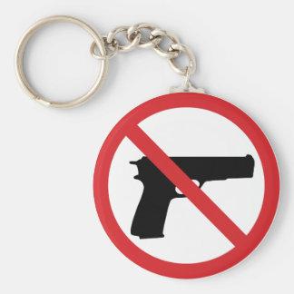 No Handguns Key Chains