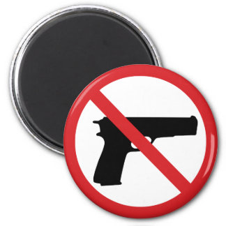 No Handguns Magnets