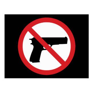No Handguns Postcard