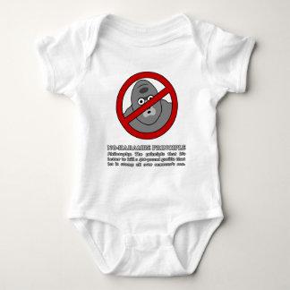 No-Harambe Principle Baby Bodysuit