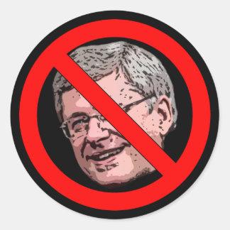 No Harper Classic Round Sticker