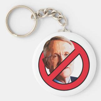 No Harry Reid Basic Round Button Keychain