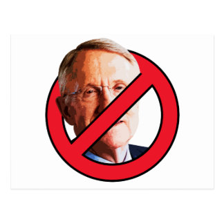 No Harry Reid Postcard