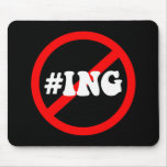 no hash tagging mouse pads