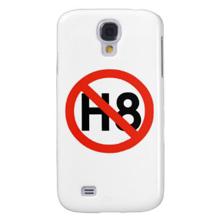 No Hate (H8) Galaxy S4 Covers
