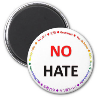 No Hate in Many Languages Magnet