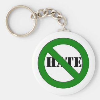 No hate keychain