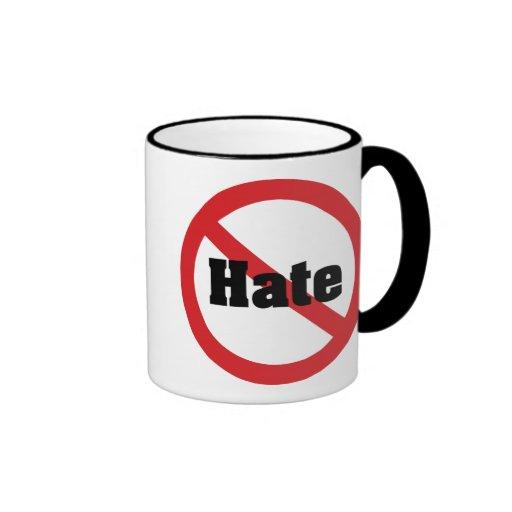 No Hate Coffee Mugs