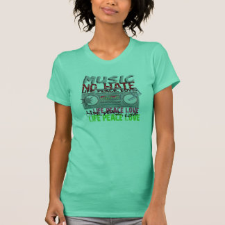 No Hate Music shirt - choose style & color