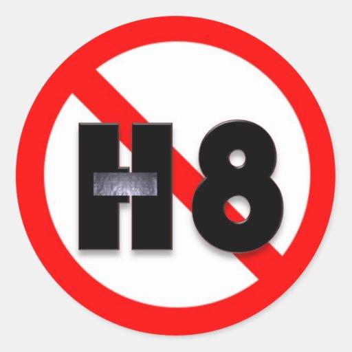 No Hate Sticker