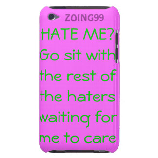 No Haters iPod Case-Mate Case