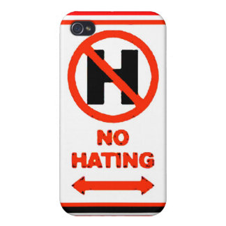 NO Hating Cover For iPhone 4