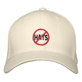 No Hats Baseball Cap