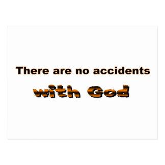 No hay accidentes con dios postales